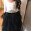 Thumbnail: NAVY Alpenglow Ruffle Dress - Ankle Length