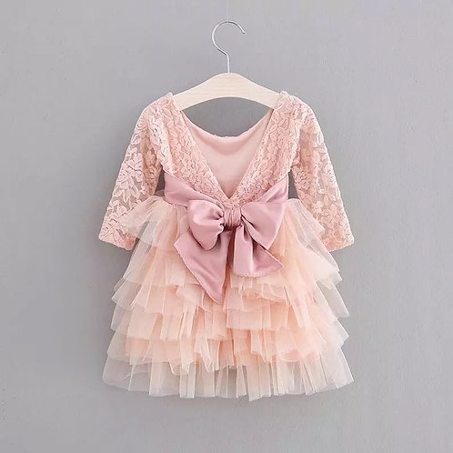 Cherry Blossom Dress - Knee Length