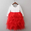 Thumbnail: RED Alpenglow Ruffle Dress - Ankle Length