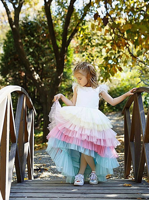 Pastel Rainbow Gown