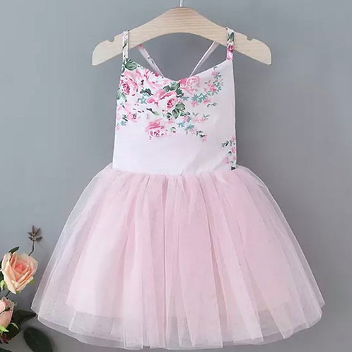 Spring Meadow A - Line Dress