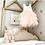 Thumbnail: PINK Alpenglow Ruffle Dress  - Knee Length.