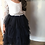 Thumbnail: NAVY Alpenglow Ruffle Dress - Knee Length