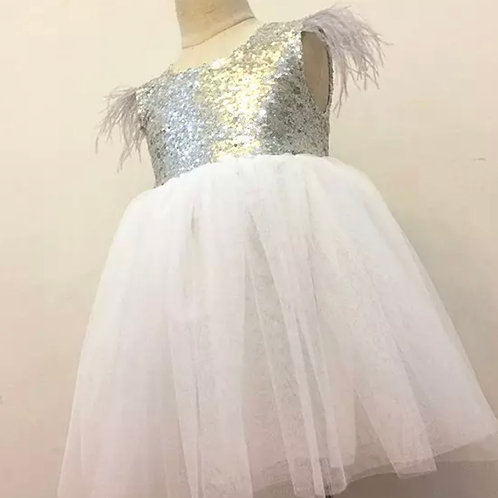 Ciella Sequinned A line Dress