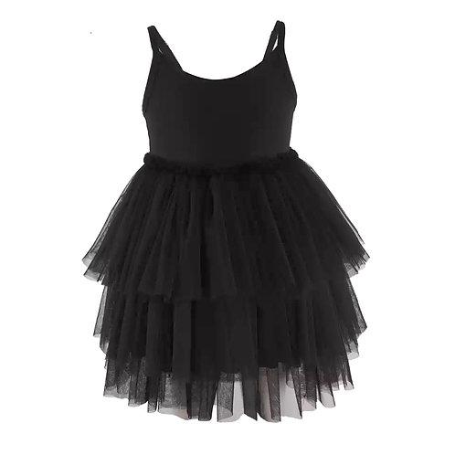 Valentina Black Dress