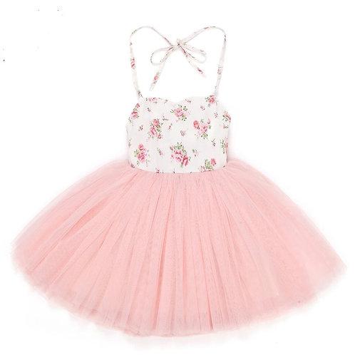Meadow Flower Tulle Dress