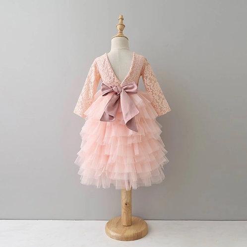 Winter Belle Dress PINK