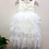 Thumbnail: WHITE - AlpenGlow Ruffle Dress  - Ankle Length.