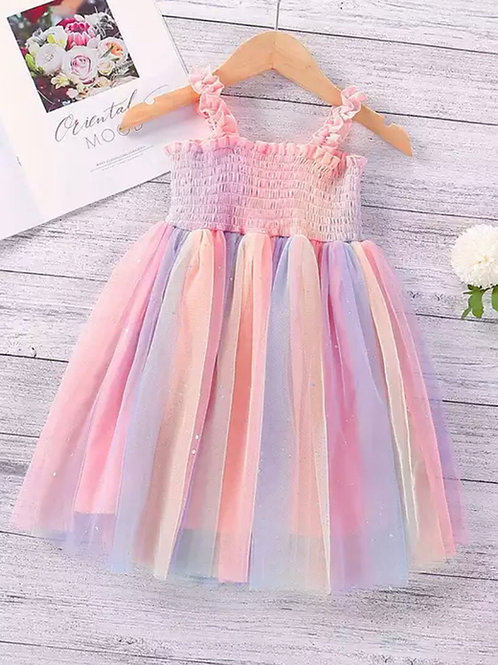Rainbow Meadow Dress