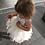 Thumbnail: IVORY - AlpenGlow Ruffle Dress  - Ankle Length