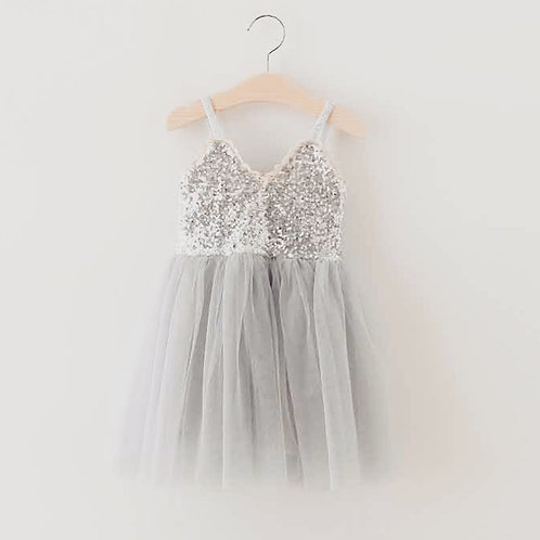 Sierra Dress in Silver