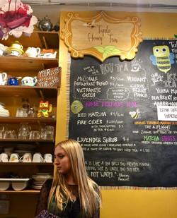 Tupelo at Tupelo Honey Teas