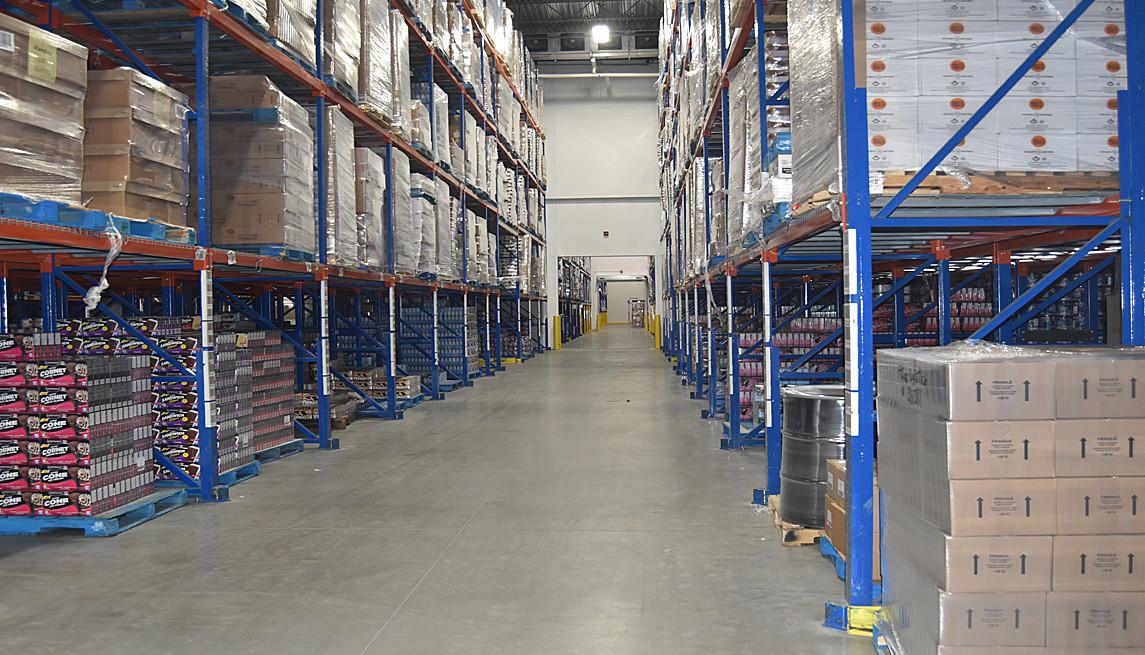 Entrepots surgelés    Deep freze warehouses