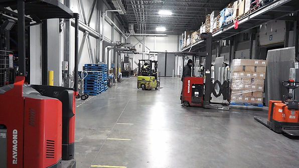 Refrigerated loading dock