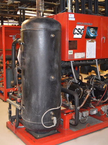 121 000 s.f. - 3110Mbtu/h Freon - 100% heat reclaim