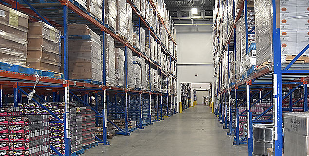 Distribution - Warehouse - Deep frozen products