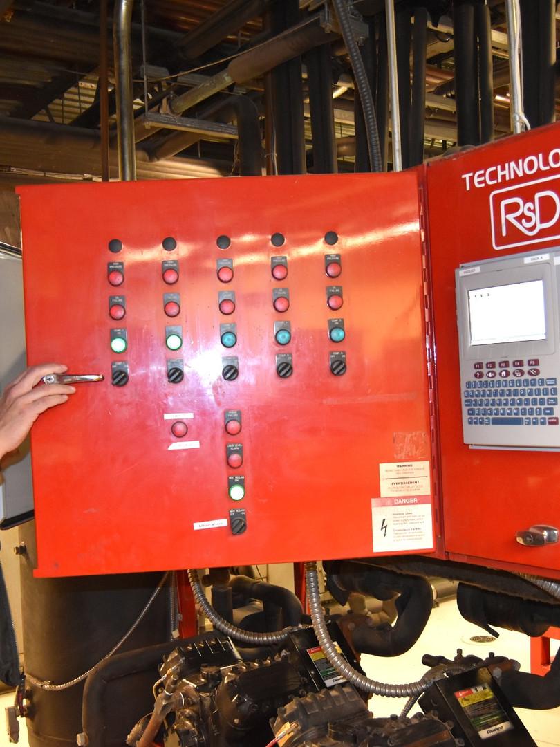 121 000 p² - 3110Mbtu/h Freon - Récupération de chaleur à 100%