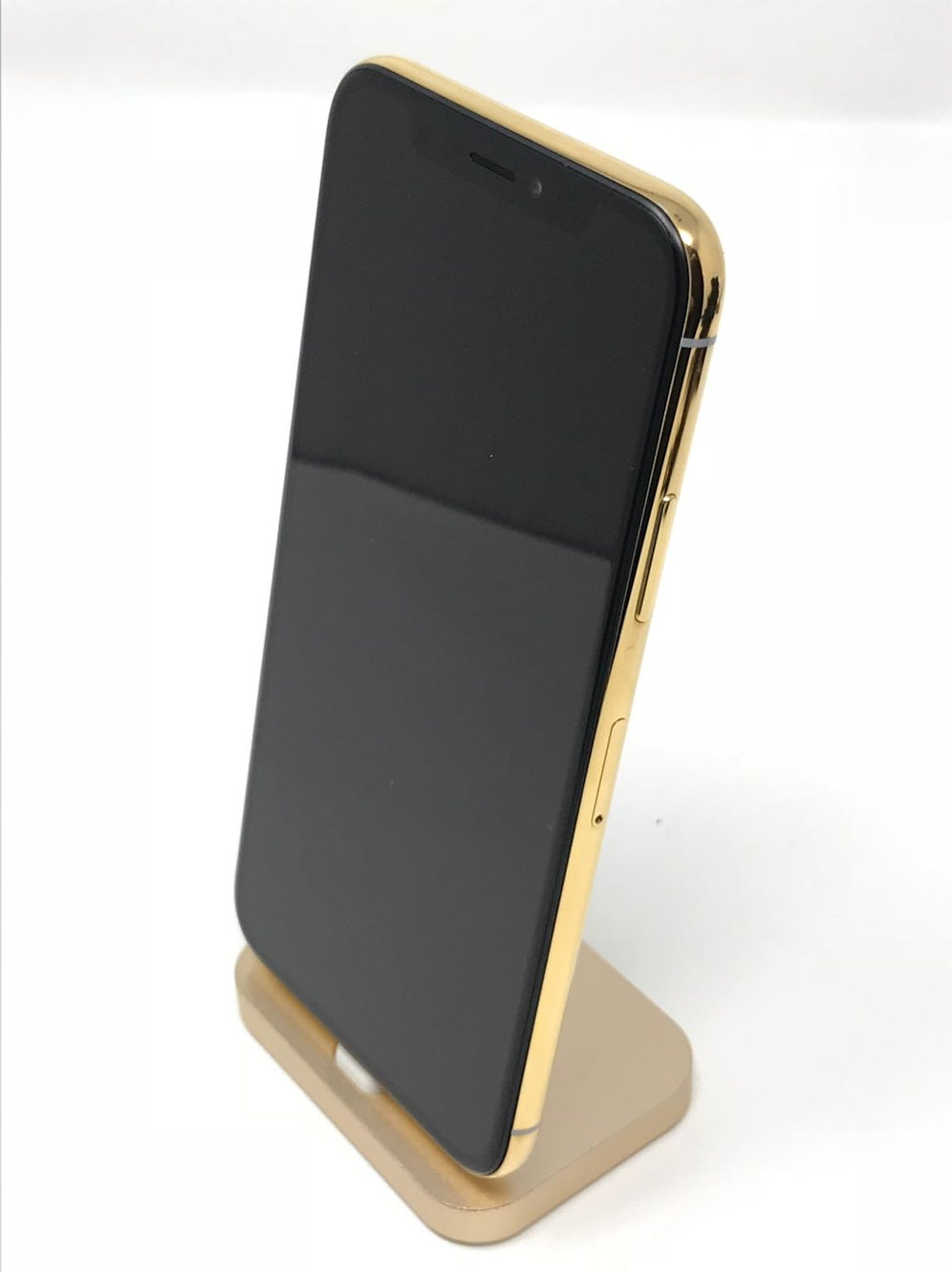 Iphone X, Unlocked, 256GB, 24K Gold Plated