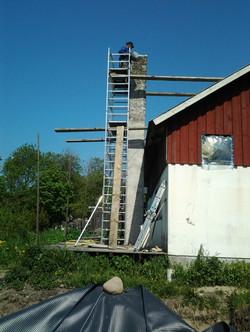 Chimney reparation
