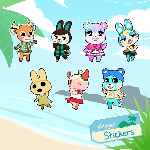 Villager Stickers
