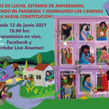 Agradecemos los saludos de aniversario n°23 a tod@s las compeñeras/os y organizaciones amigas.