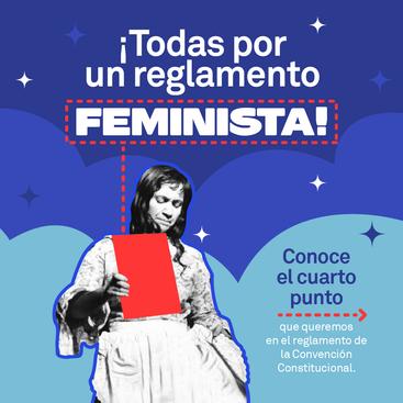 """""""Todas por un reglamento feminista""""  punto 4"""