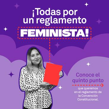 Todas Por Un Reglamento Feminista        punto 5