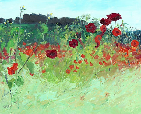 The Stand of Crimson Poppies