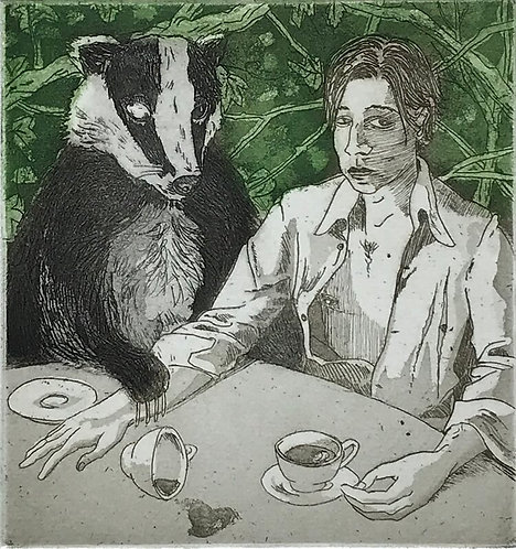 Taking Tea With Ol'Badger