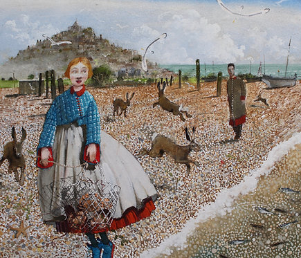 The Hares on The Shingle
