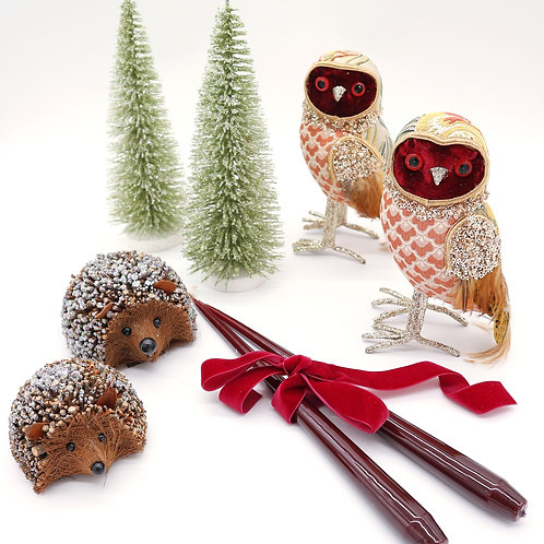 Countryside Christmas Decor Set