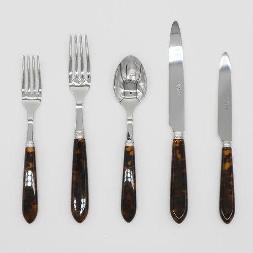 Tortoiseshell Cutlery Set