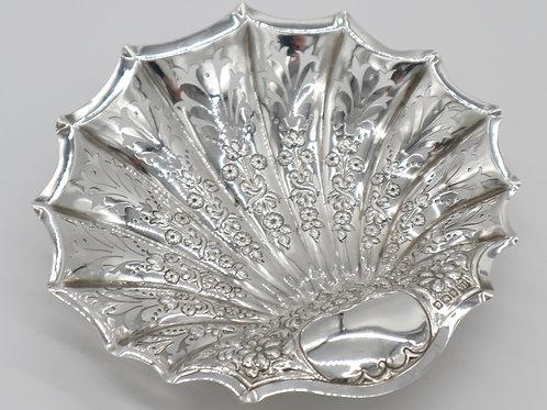 Silver Scallop Dish