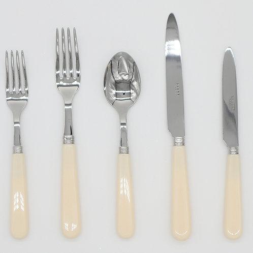 Ivory Cutlery Set (5 piece)