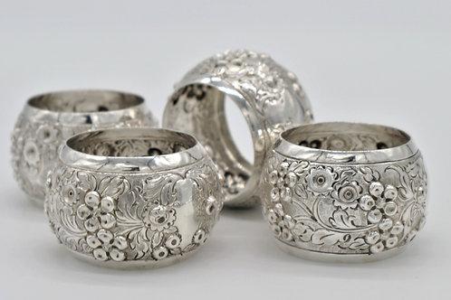 Edwardian Silver Napkin Rings