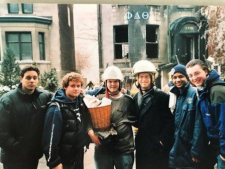 Phi Delta Theta ΦΔΘ McGill (Quebec Alpha) fire