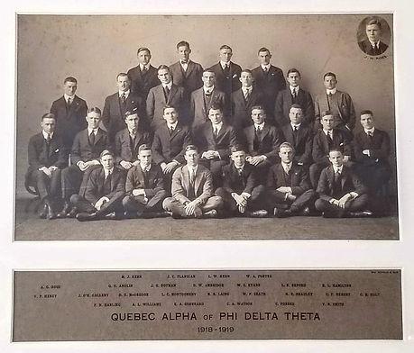 Phi Delta Theta ΦΔΘ McGill, Quebec Alpha