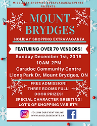 Mount Brydges Holiday Shopping Extravaga