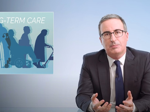 Latest John Oliver Rant Details Failings of Our Long-Term Care System