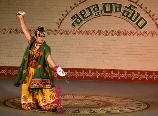 Mohini Bhasmasura   a drag musical performed at Shilparamam Hyderabad