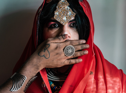 Indian Goth Drag against Patriarchy   Photo Performance