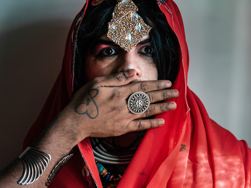 Indian Goth Drag against Patriarchy | Photo Performance