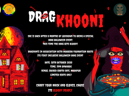 Hyderabad is all set to celebrate Halloween with Drag