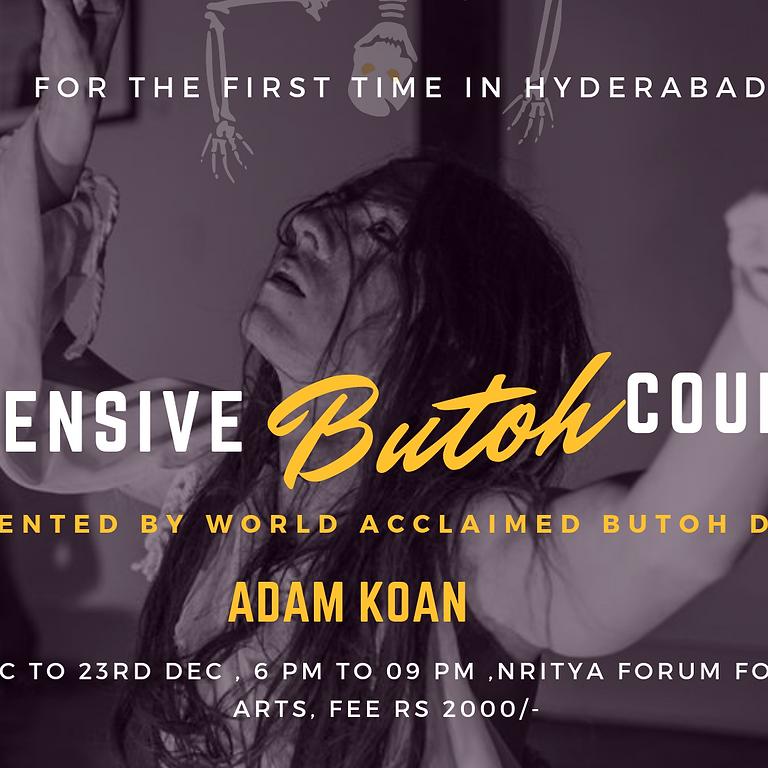 Butoh Workshop : Certification course