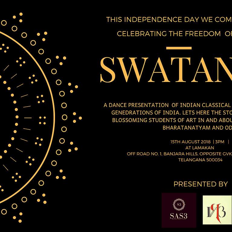 Swatantra celebrating freedom of expression