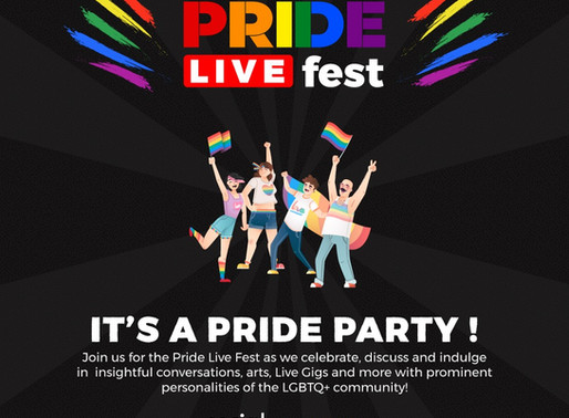 Pride Live Fest By Social Ketchup & Local Samosa   an Extravaganza of Art and Awareness to go Live