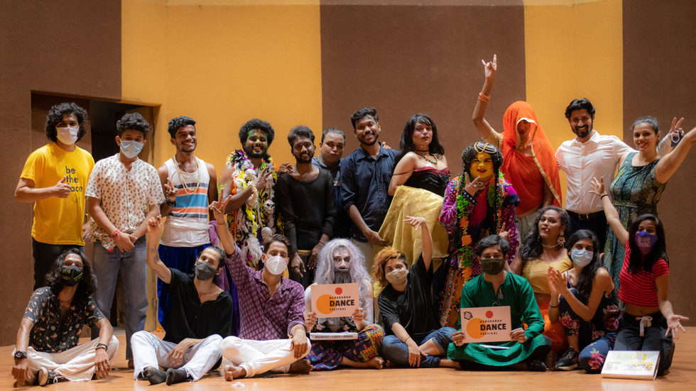 Hyderabad Dance Festival Concludes with a mark of Queer Inclusion.