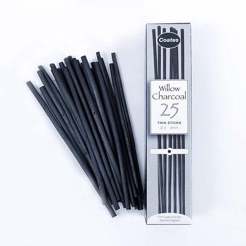 Fusains - boîte de 25 - 2/3mm - Coates