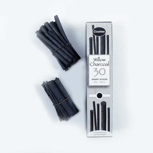Fusains - boîte de 30 - 9/12mm - Coates