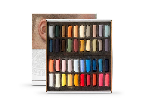 Pastels à l'écu - SENNELIER - 40 demi pastels à l'écu - Série portrait